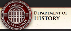 Department of History logo